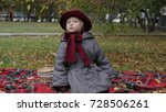 little girl is playing with...   Shutterstock . vector #728506261