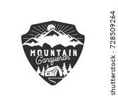 traveling  outdoor badge....   Shutterstock .eps vector #728509264