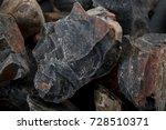 macro closeup of natural onyx... | Shutterstock . vector #728510371
