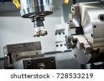 industrial metalworking cutting ... | Shutterstock . vector #728533219