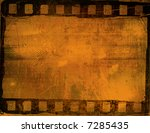 great film frame for textures... | Shutterstock . vector #7285435