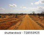 savanna landscape in africa.... | Shutterstock . vector #728553925