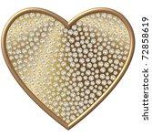 diamond heart | Shutterstock . vector #72858619
