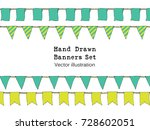 hand drawn colorful doodle... | Shutterstock .eps vector #728602051