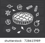 Vector Food. Hand Drawn Doodle...