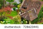 green city of heidelberg ... | Shutterstock . vector #728623441