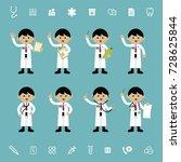 cartoon illustration of a... | Shutterstock .eps vector #728625844