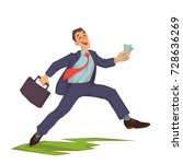vector illustration of happy... | Shutterstock .eps vector #728636269