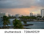 san juan  puerto rico  ... | Shutterstock . vector #728640529