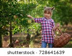 kids picking fresh fruits and... | Shutterstock . vector #728641639