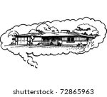 dream home   retro clipart...