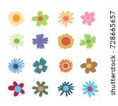 Doodle Flowers  Colour Flower...