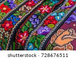 belt and embroidery for one old ... | Shutterstock . vector #728676511