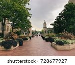 indiana university | Shutterstock . vector #728677927