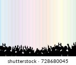 a crowd of people. vector...   Shutterstock .eps vector #728680045
