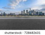 urban traffic road with... | Shutterstock . vector #728682631