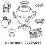 illustration on white... | Shutterstock .eps vector #728692969