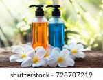 body care product shower and... | Shutterstock . vector #728707219