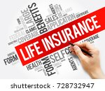 life insurance word cloud... | Shutterstock . vector #728732947