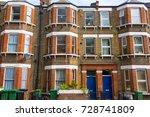 facade of an edwardian restored ... | Shutterstock . vector #728741809