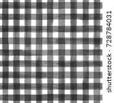 black and white plaid... | Shutterstock . vector #728784031