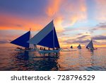 boracay  philippines   july 29  ... | Shutterstock . vector #728796529
