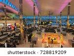heathrow  london. 17 september... | Shutterstock . vector #728819209