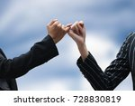 promises to do business... | Shutterstock . vector #728830819