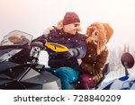 Snowmobile For Family. A Coupl...