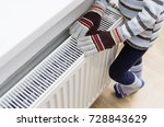 gas powered central heating... | Shutterstock . vector #728843629