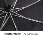 a broken umbrella. the umbrella ... | Shutterstock . vector #728848057