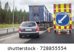 repair of highway in northern... | Shutterstock . vector #728855554