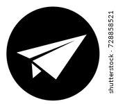 ui glyph circle send message