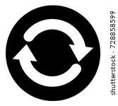 ui glyph circle refresh