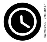 ui glyph circle clock