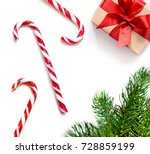 christmas composition.... | Shutterstock . vector #728859199