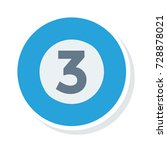 billiard icon | Shutterstock .eps vector #728878021