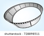 cinema   movie and photography... | Shutterstock .eps vector #728898511