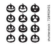 Set Pumpkins For Halloween....