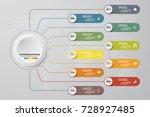 modern 10 options presentation...   Shutterstock .eps vector #728927485