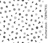 cryptocurrency seamless pattern....   Shutterstock .eps vector #728967931