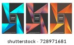 modern abstract cover design.... | Shutterstock .eps vector #728971681