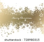 christmas background with... | Shutterstock .eps vector #728980315
