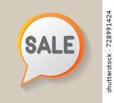 sale label vector illustration. ... | Shutterstock .eps vector #728991424