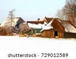 Dutch Farm  Wooden Shed And...