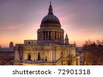 St Paul's Cathedral  London  U...