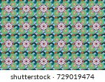 perfect for textile  cover... | Shutterstock . vector #729019474