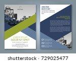 brochure design  brochure... | Shutterstock .eps vector #729025477