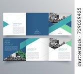 Brochure design, brochure template, creative tri-fold, trend brochure   Shutterstock vector #729029425