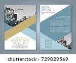 abstract minimal geometric... | Shutterstock .eps vector #729029569